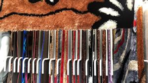 廣州廣園西路88號批發5G彩色冰絲加羊毛地毯 2