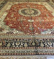 No. 16-30 Yamei Yufu provides Persian riches pattern and hand-made silk carpet