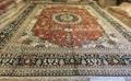 No. 18-30 Yamei Yufu provides Persian riches pattern and hand-made silk carpet 2