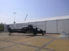 专业生产移动式航空铝金大型空军蓬房40x90m 航空帐篷