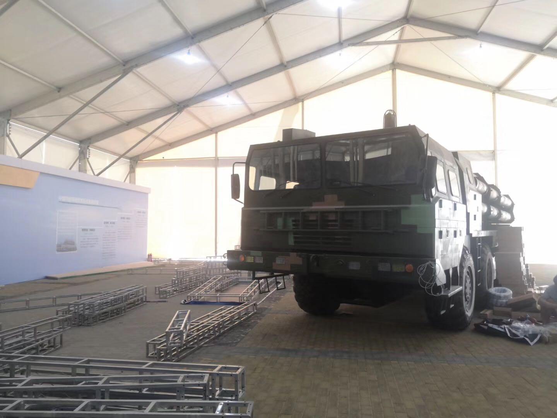 专业生产移动式航空铝金大型空军蓬房40x90m 2
