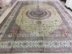 波斯富贵手工地毯/真丝挂毯-推进中美合做的新动力