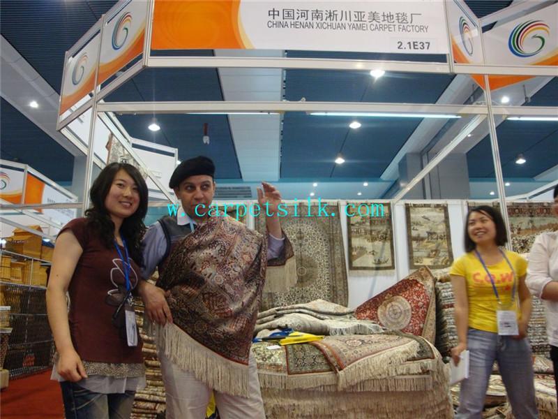 特好地毯及艺术挂毯只在河南亚美地毯厂有生产! 2