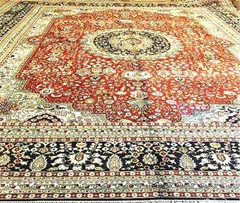 Presents to the festival, the yamei carpet handmade carpet 14x20ft