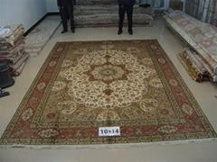 世界名毯-波斯富贵手工真丝地毯及挂毯是优等品