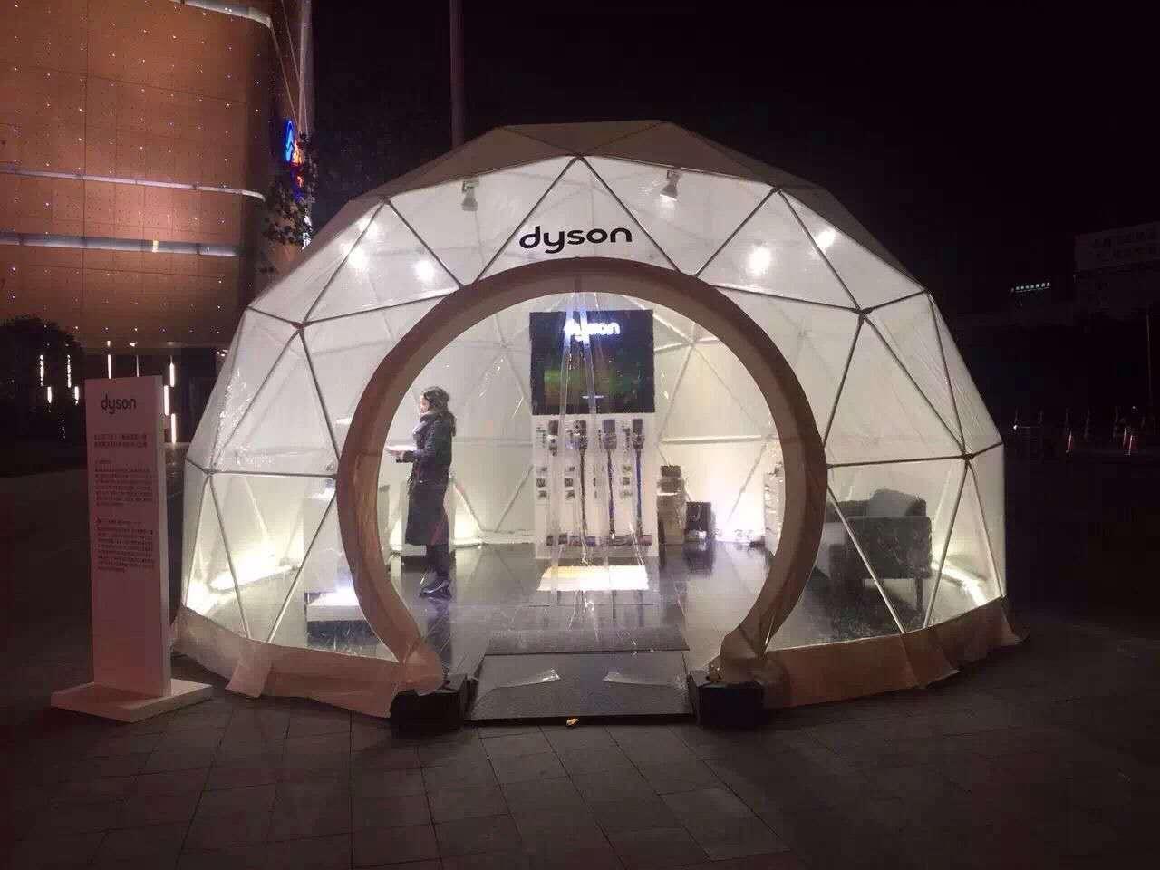 专业制造球形阳光篷房,艺术帐篷 3