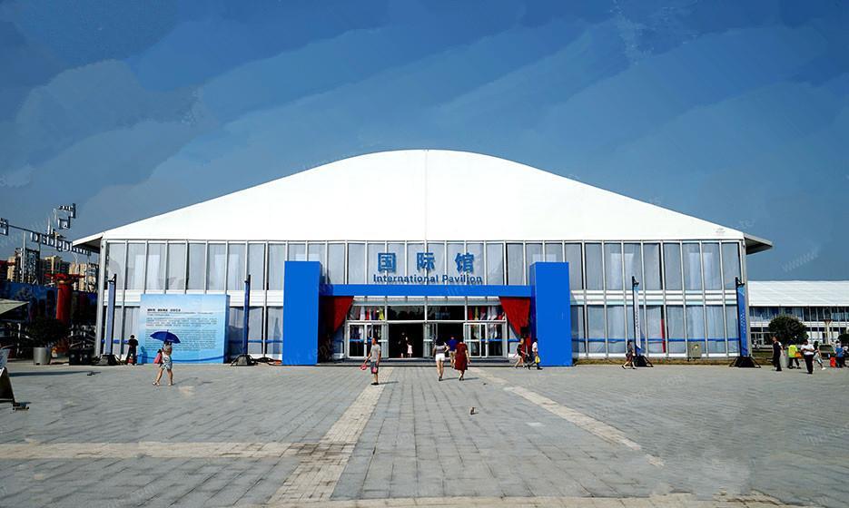专业生产大型展览篷房,交易会篷房 2