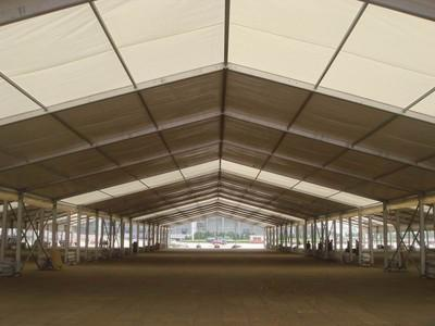 Professional production of trade fair TENT large exhibition TENTS 4