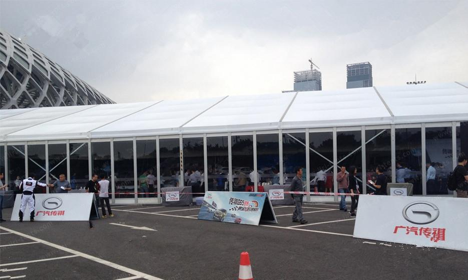 Professional production of trade fair TENT large exhibition TENTS 1