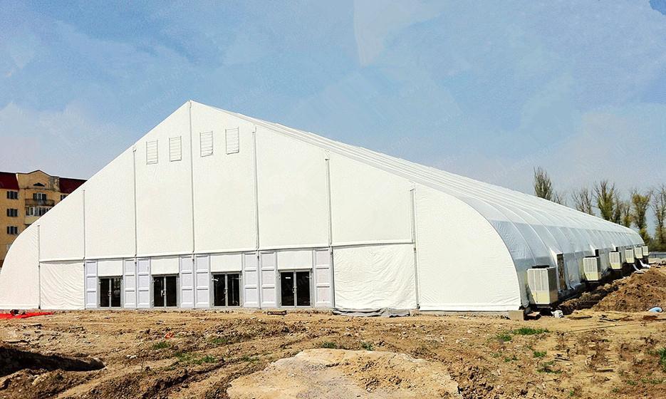 中国好的大型医院专用篷房 Party Tent 工业仓储帐篷 1