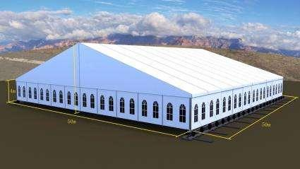 大型展览帐篷 展会蓬房 商务帐篷 1