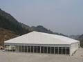 安装大跨度航空铝合金帐篷并提供家具/地毯/空调/照明 2