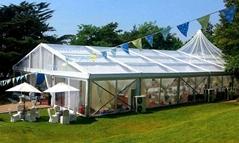 生產大型弧頂篷房 彎柱篷房 多邊形篷房