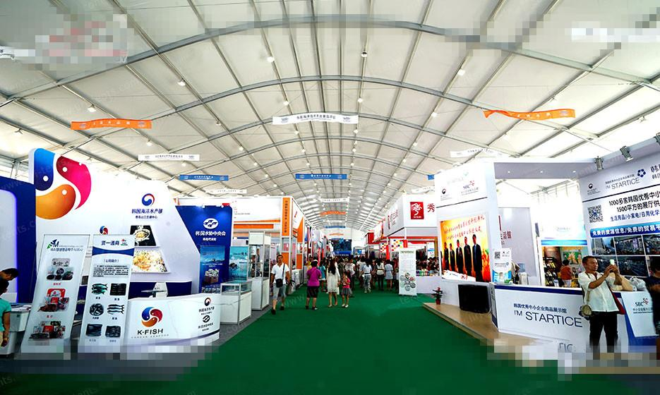 tents Provide exhibition shelter for Hainan world consumer service 3