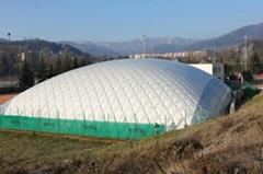 優先供應隔熱、隔音的大型氣膜帳篷35x70m