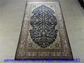 赏心悦目的艺术小地毯,蚕丝挂毯