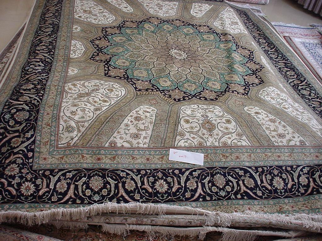 世界名毯-波斯富贵手工地毯 1