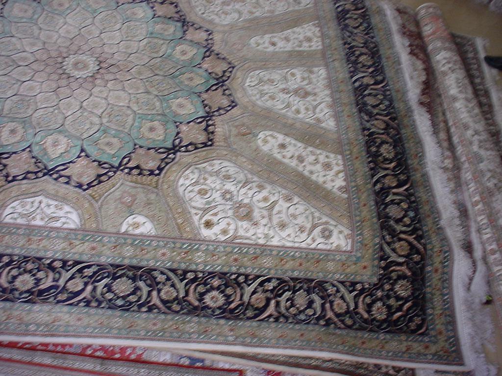 世界名毯-波斯富贵手工地毯 2