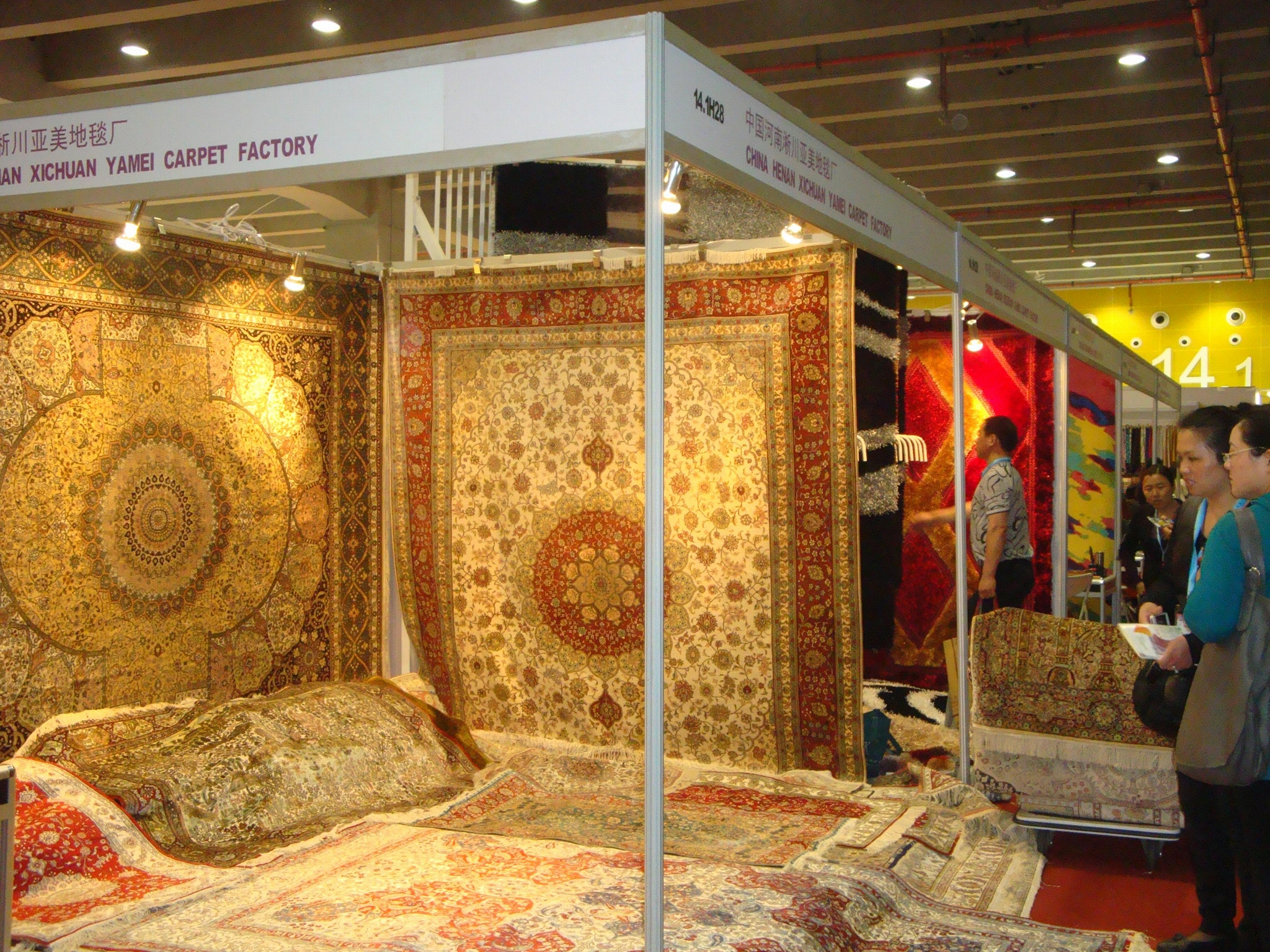 If you want to succeed in your career, you must use yamei handmade silk carpet 1