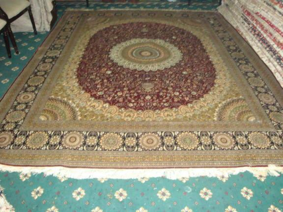If you want to succeed in your career, you must use yamei handmade silk carpet 4