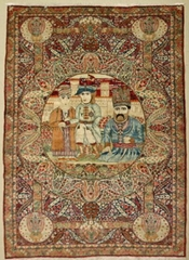 The memory of a generation - Persian Splendor silk tapestries and blankets
