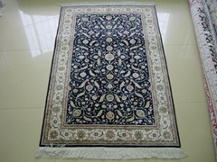 手工真絲波斯富貴地毯有哪些藝朮特色