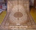 波斯富貴手工真絲波斯地毯的特性