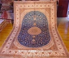 手工真丝亚美传奇地毯的介绍