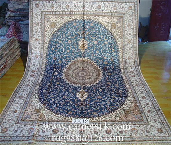 手工真丝波斯富贵地毯价格的介绍 2