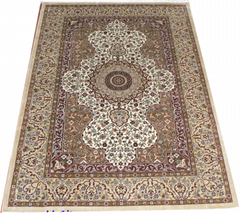 Introduction to the price of handmade silk Persian Splendor rich carpet