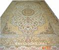 手工真絲波斯富貴地毯價格的介紹 3