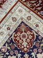 Handmade natural silk Persian pattern carpet of the same quality as Benz 4