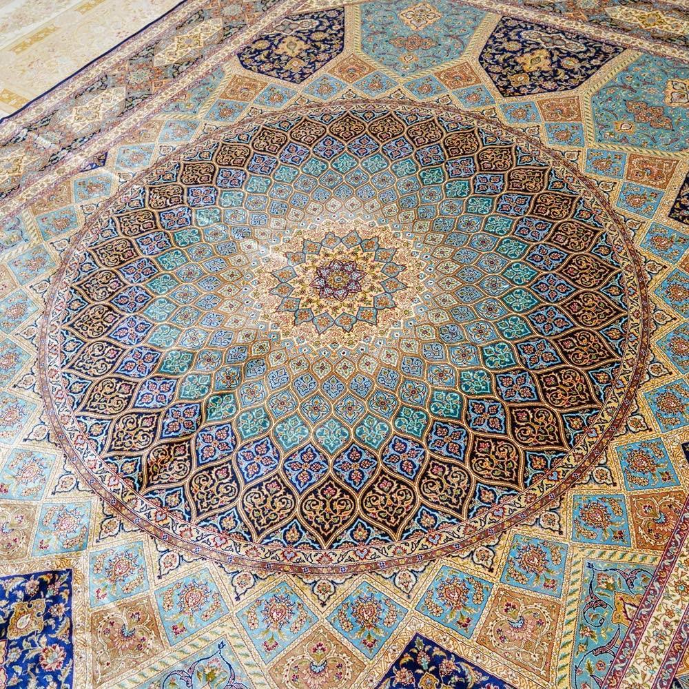 專業設計製造世界上   優質手工地毯 波斯富貴 4