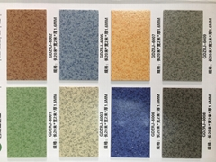 使用商場/健身房/學校生產批發PVC塑膠地板,