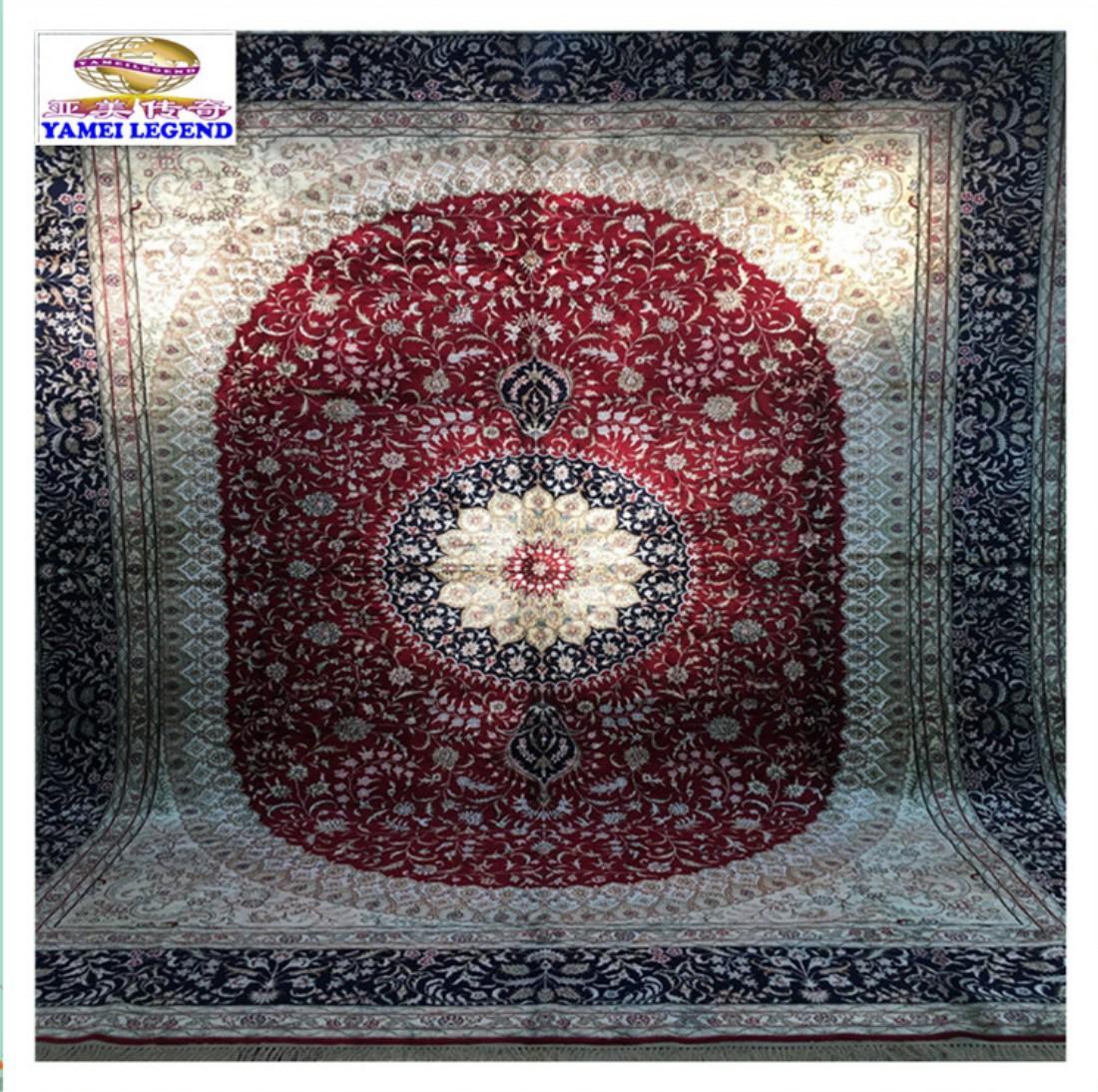 生产亚美传奇手工波斯地毯/美国客房大堂手工地毯 1