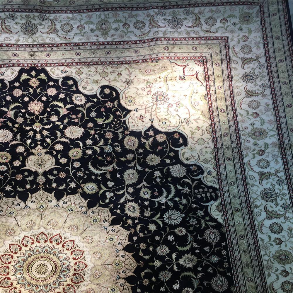 与奔驰同级的亚美传奇手工真丝地毯-亚美地毯厂生产 4