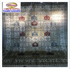 批發亞美傳奇 手工絲綢地毯,9x12ft波斯圖案
