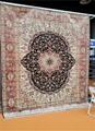 亚美传奇优质手工真丝挂毯 天然蚕丝 古董艺术地毯 3