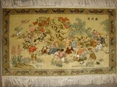 中國廣州廣園西路88號批發高級精細手工藝朮挂毯