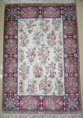 ,白領人士必備2x3ft,優質手工祈禱真絲毯子