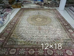 Hand made silk carpet fo (Hot Product - 1*)