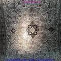 裝飾國家會客廳的手工高級波斯真絲地毯10x14ft 4
