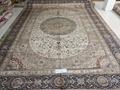 中國桑蠶絲手工地毯品牌商-亞美