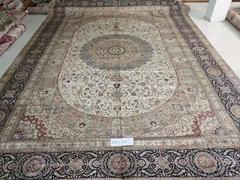 中国桑蚕丝手工地毯品牌商-亚美传奇地毯