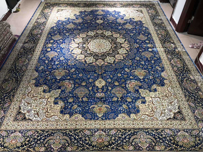 波斯富贵真丝地毯销往安哥拉,安提瓜和巴布达艺术地毯 1