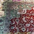 亚美批发红色6x9ft手工桑蚕丝地毯 3