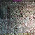 波斯富責淺米色5x8ft手工真絲挂毯 3