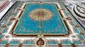 波斯地毯的上帝式奢華是亞美傳奇