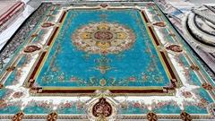 波斯地毯的上帝式奢華是亞美傳奇手工真絲地毯