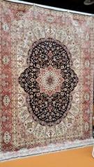 你家鋪這9x12ft 手工真絲地毯,美女會把你搶走的!